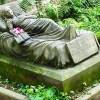 Caroline Walter gravesite Alter Friedhof cemetery Germany