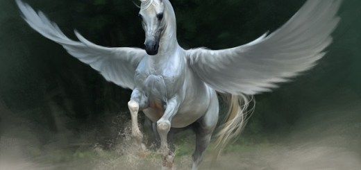 Flying White Horse witnessed in West Virginia