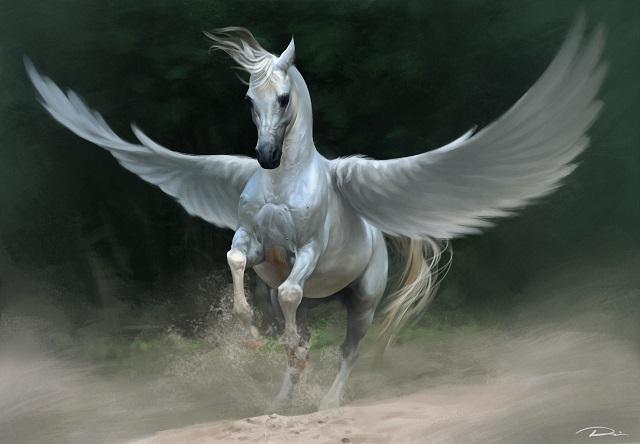 Flying horse West Virginia