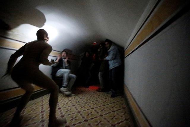 Fright in Quinta Nova da Assuncao mansion