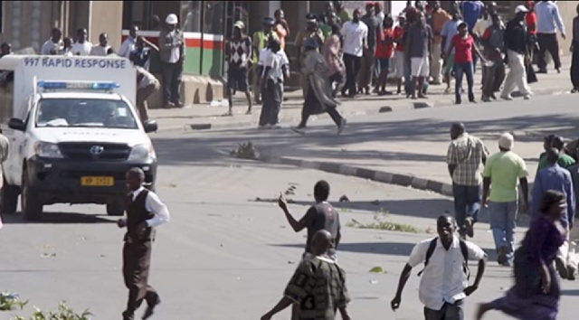 Malawi Africa vampire riot