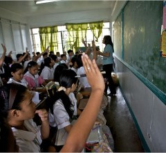 Palawan Philippines classroom ghost possession