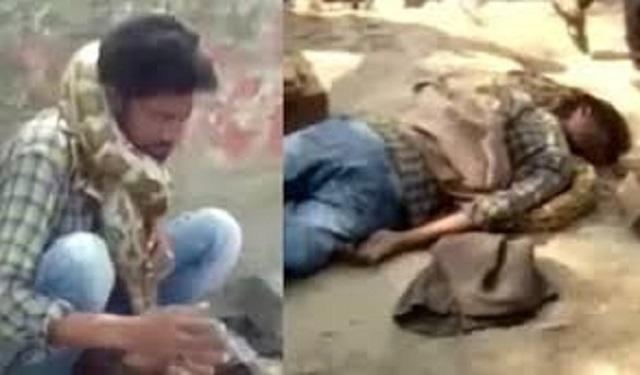 Snake charmer strangled by own snake