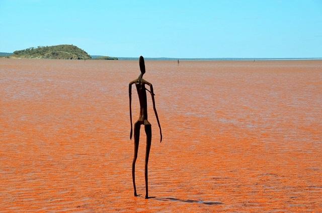 Lake Ballard Australia statues