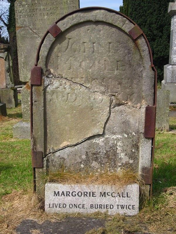 Margorie Mccall grave Shankill Graveyard