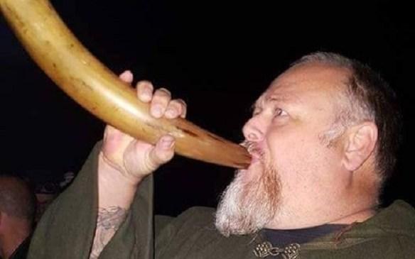 Druid witch John Bennett attacked
