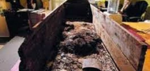 Dead body explodes inside of funeral home