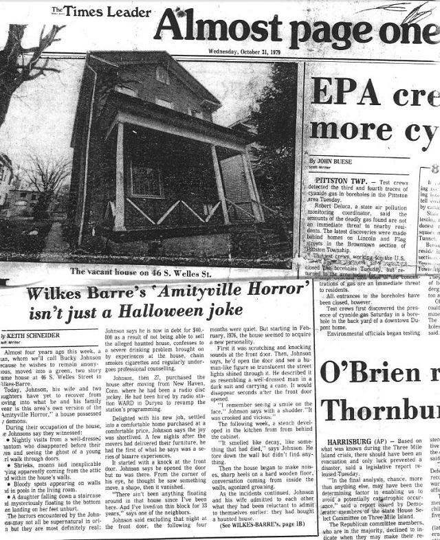 Amityville Horror House Pennsylvania