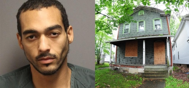 Image: Anthony Parker Amityville horror house arrest/The Citizens' Voice