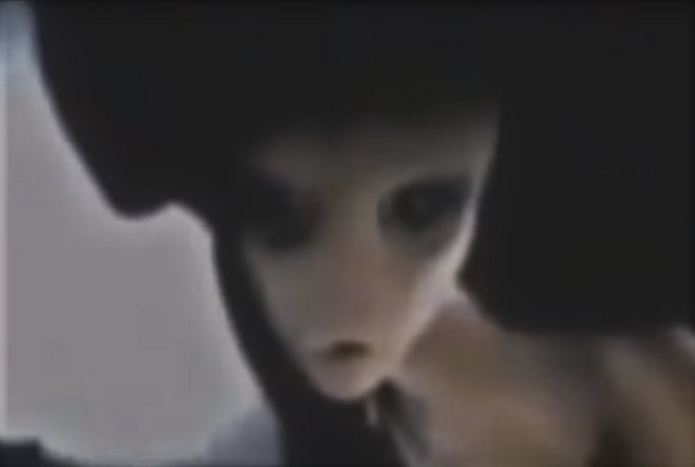 KGB footage of living alien in base
