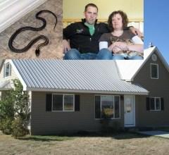 Snake infested home in Rexburg Idaho