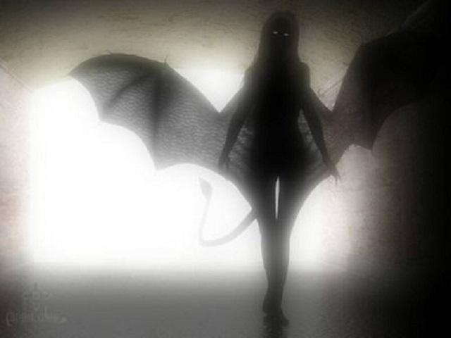 Succubus demon girl