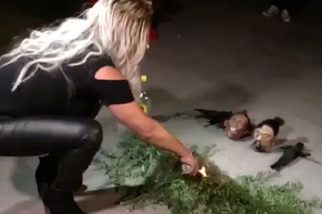 Zulema the witch performs exorcism in Mexico
