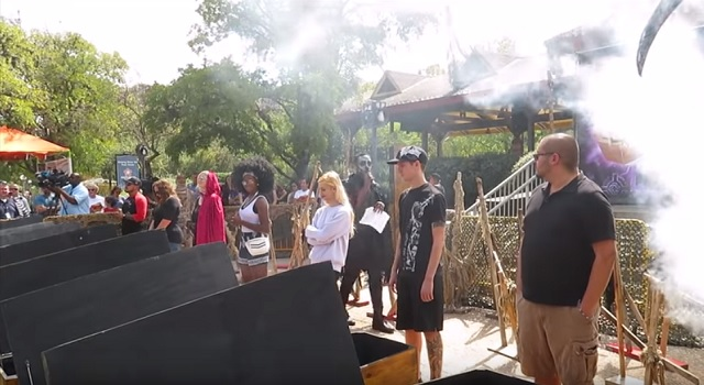 Six Flags 30 Hour Coffin Challenge Fright Fest 2018