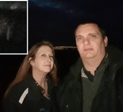 Tania and Jared Copeman photograph demonic monk face