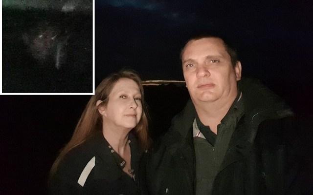 Tania and Jared Copeman photograph demonic monk face
