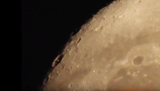 Object on the Moon 2018