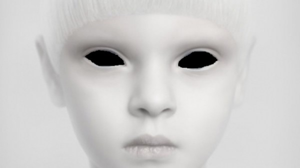 alien white child Japan