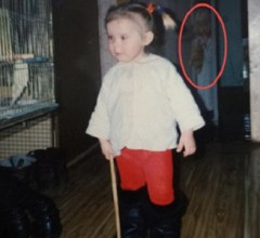 Anastassia Perets ghost photo