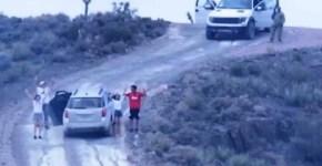 Family held at gunpoint at Area 51