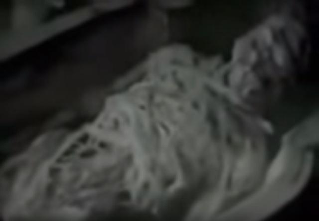 KGB alien mummy Egypt