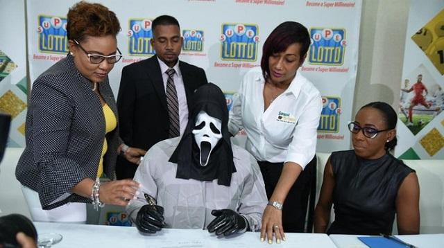 Scream Mask Lottery Winner