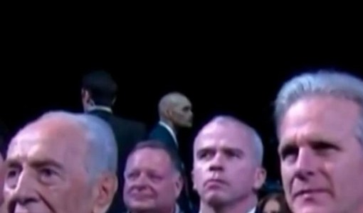 Obama Alien Reptilian Shapeshifting Body Guard
