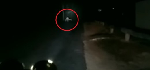 Pale Humanoid Creature Recorded In The Australian Outback