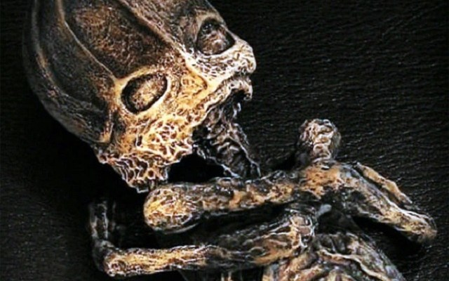 Alyoshenka small mummy Russia