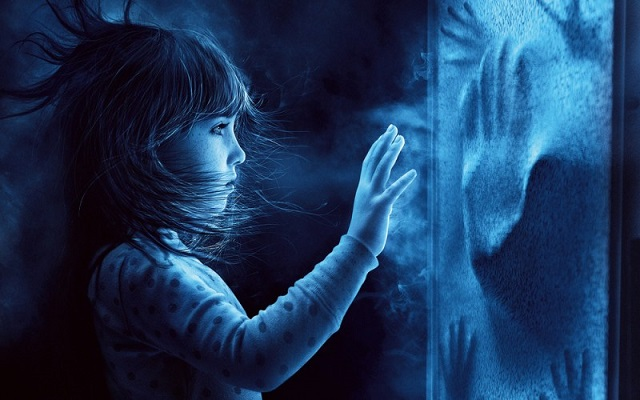 Little girl and the ghosts