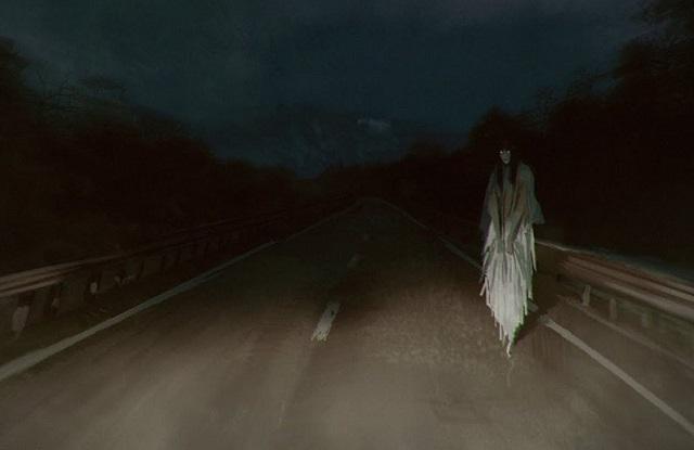 Roadside ghost