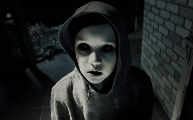 black-eyed kid