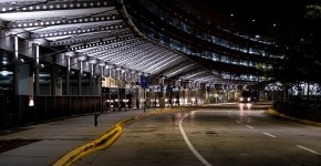 O'Hare-International-Airport-night