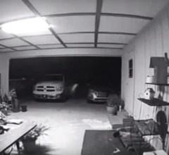 Partial Spirit Manifestation & Shadow Person Caught On CCTV