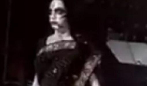 Costumed ghost India Coronavirus