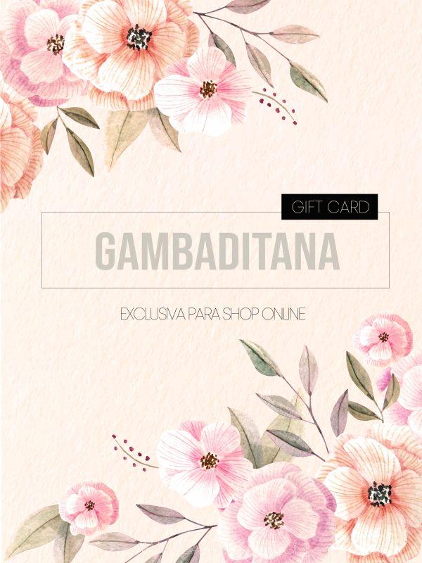 Diseño Gift Card