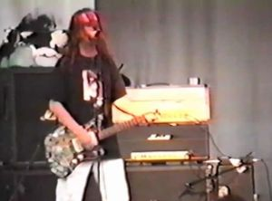 Dinosaur Jr live in 1991.