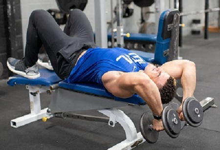 Jeremy dutra get jacked by doing damn arm workout on the gym