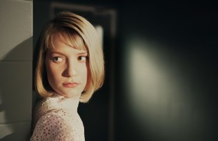 Mia Wasikowska in The Double. Image courtesy of Magnolia Pictures.