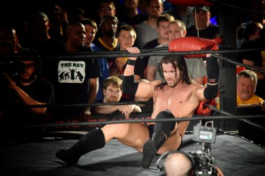 Adam Cole after Elgin kicked out at 2.