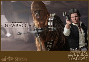 Hot Toys' Han and Chewie