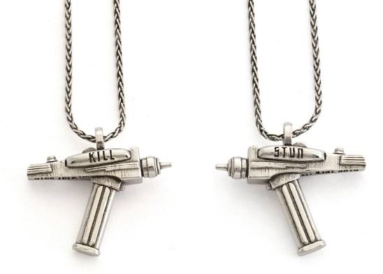 Star Trek Phaser Charm Necklace