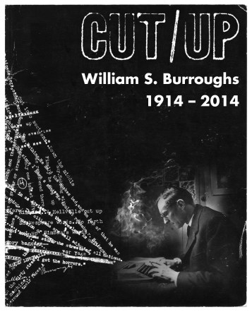 BH-526 - WILLIAM BURROUGHS - EVENT FLYER