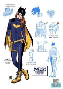 Batgirl's new costume