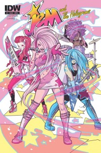 JEM AND THE HOLOGRAMS #1 cover