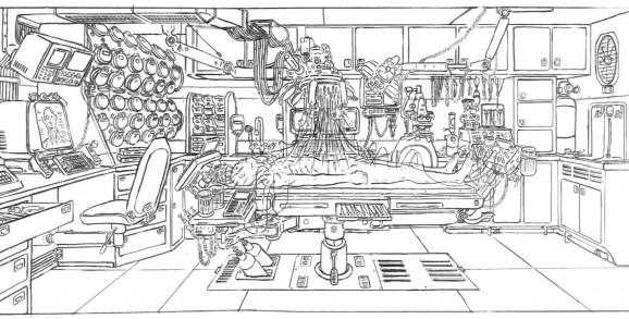 The Matrix concept art