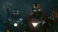 War Machine and Iron Man