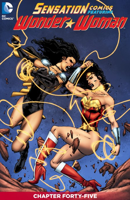 SENSATION COMICS FEATURING WONDER WOMAN Chapter 45 Cover