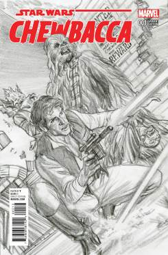 CHEWBACCA #1 Alex Ross sketch variant cover
