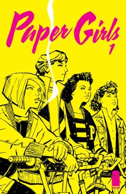 Cover Art from Images' Paper Girls #1